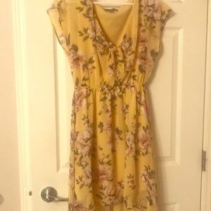 Dresses & Skirts - Floral high low dress